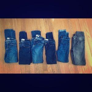Abercrombie kids jeans size 10, Hudson Jeans 10